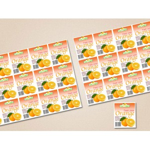 Gloss laminated Sticker Labels (2x3) inch