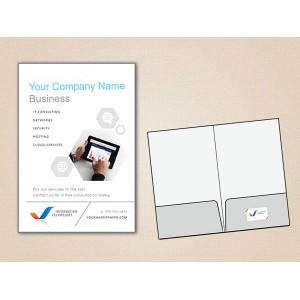 Single Side Laminated Folders