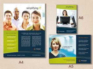 Double Sided DL Uncoated Flyers (Art Card 300 GSM)